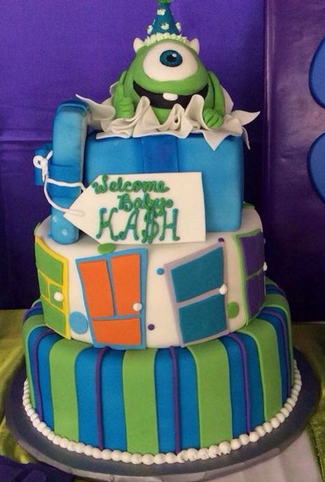 baby shower parties monsters inc baby and monster inc party