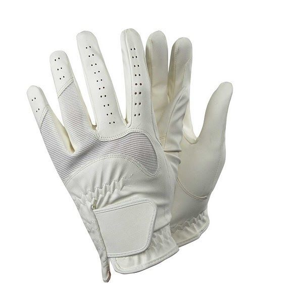 New Equestrian Horse Riding Gloves dressage large tack english show ovation palm