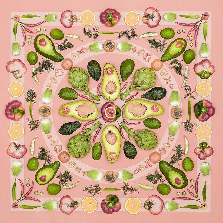 Mandala de légumes