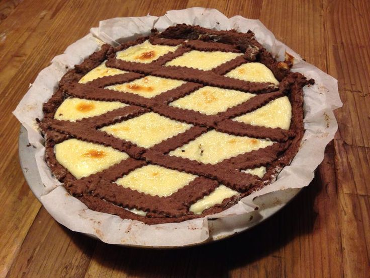 crostata++con+crema+al+cioccolato+bianco
