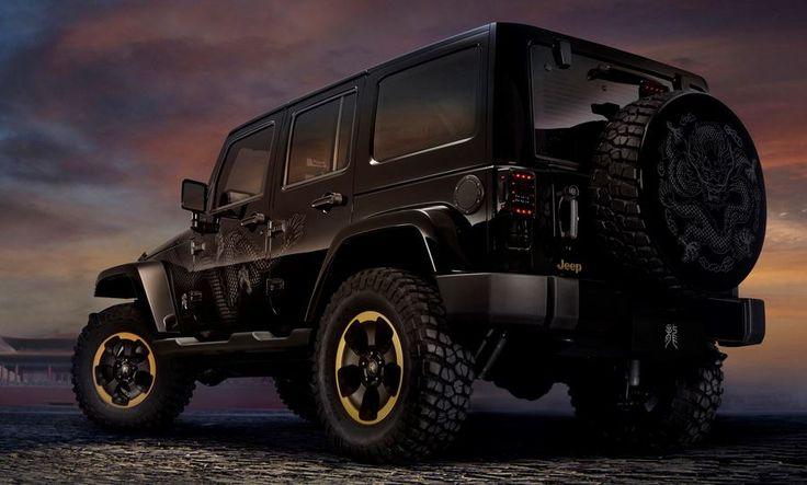 Black and awesome jeep