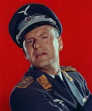 "Werner Klemperer (1920 - 2000) Werner Klemperer as Col. Wilhelm Klink in the CBS television series ""Hogan's Heroes."" (Getty Images / CBS)"