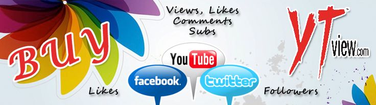 Buyyoutubeviews is a free Social Media Exchanging Website where people can get FREE Youtube Views, Free Youtube Likes,Free Youtube Subscribers, Youtube Promotion & more!.
