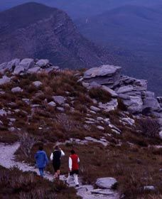 Bluff Knoll hike in the Stirling Ranges, Western Australia
