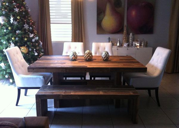 gorgeous emmerson dining table dumont buffet dining table with benchmodern