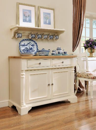 Northleach Wall Mounted Sideboard Top Kingcade Furniture