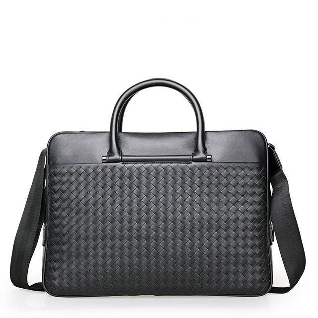 ForUForM Handbag Men Leather Briefcases Lawyer Shoulder Bags Genuine Leather Male Messenger Bags Handbags Men Office bag LI-1943