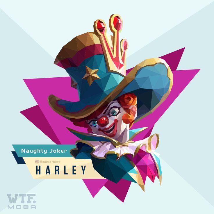 Harley- Naughty Joker  #harleymobilelegends #mobilelegends