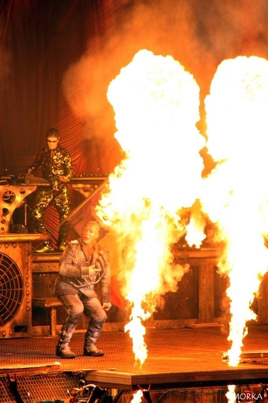 Rammstein, 2012-03-06 (Bercy, Paris, France).  #concert #live #fire http://www.morka.fr