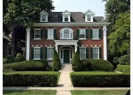 Image result for american colonial architecture red brick home
