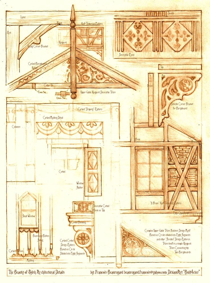 The Beauty of Polish Architectural Details by Built4ever.deviantart.com on @deviantART