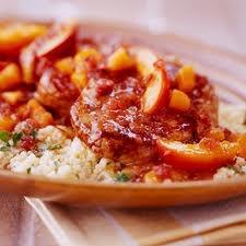 Slow Cooker Pork Chops with Cranberry-Orange Sauce