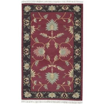 The Nomadic Kilim collection is solely comprised of warps and wefts, with no knots and crafted in the flat woven style. The weaver passes the wefts between each warp from selvedge to selvedge.