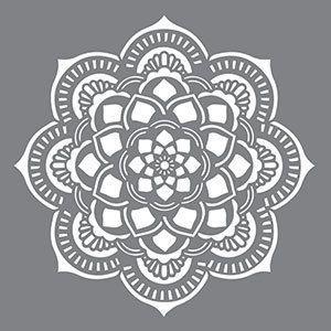 """18 """"x 18"""", las plantillas de decoración Americana, Mandala, Stencil reutilizable"""