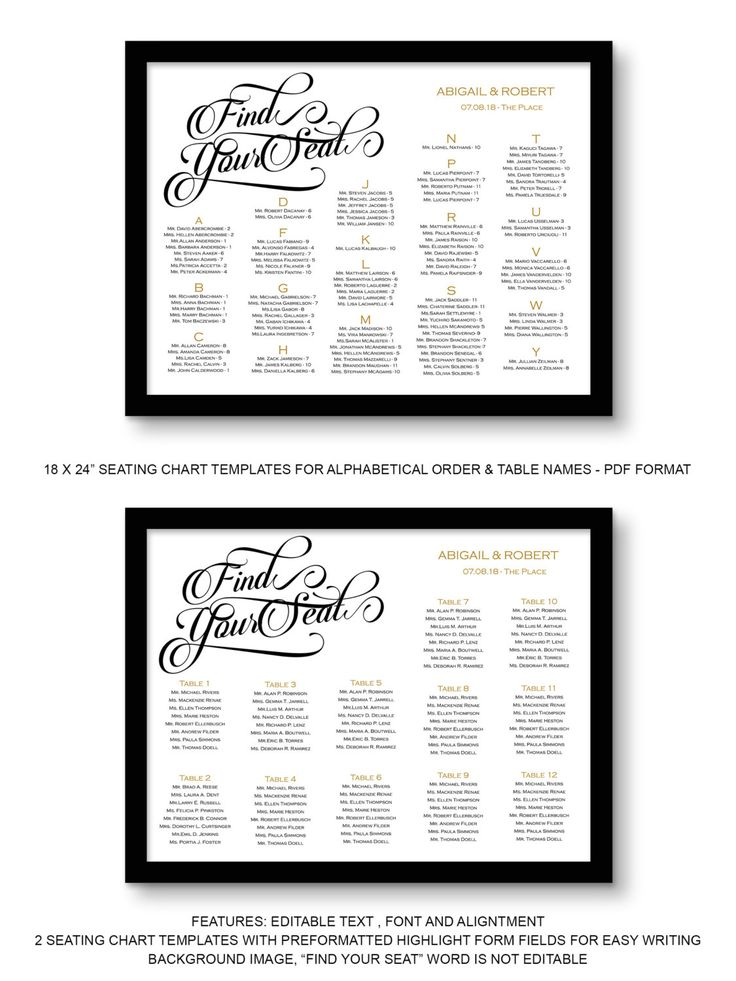 25+ beste ideeën over Seating chart wedding template op Pinterest - number chart template