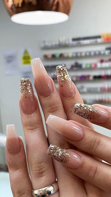 60 Perfect Gel Glitter Nail Designs To Upgrade You…