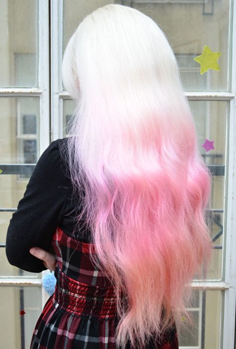 amazing pink ombre hair extensions