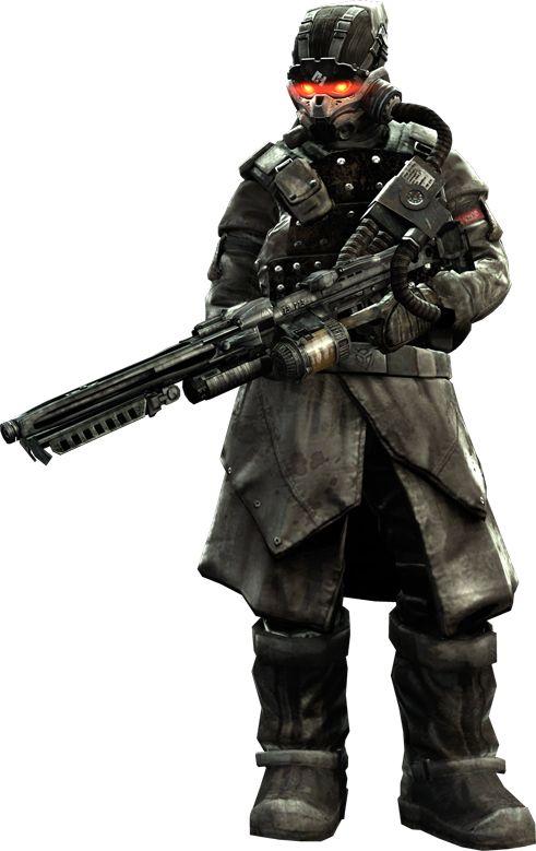 Killzone 2 HgH LMG Trooper - Killzone Wiki - The Killzone Database!