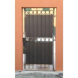 Wrought Iron Pedestrian Gate. Customize Realisations. 072
