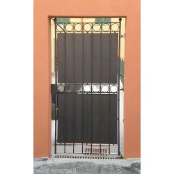 Wrought Iron Pedestrian Gate. Customize Realisations. 072