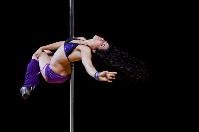 today pole dancing is seen as a fitness exercise and an art of expressing one's self. #poledancing