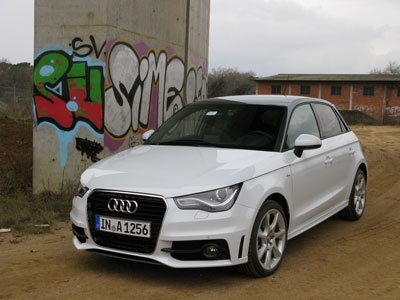 Audi A1 Sportback - we have the hots for the compact Audi.