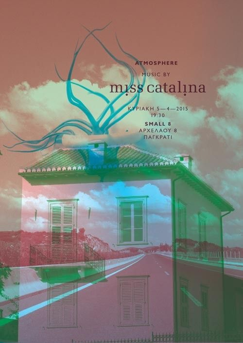 Miss Catalina posters by pi6 communication design - The Greek Foundation