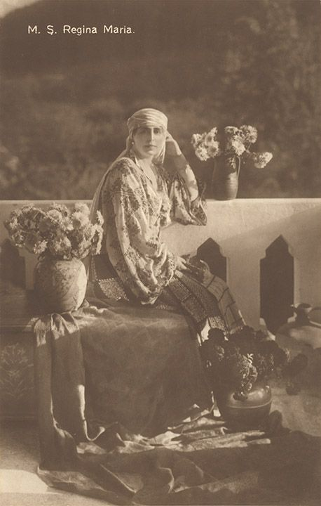 Queen Marie of Romania Gallery / M. S. Regina Maria Postcard
