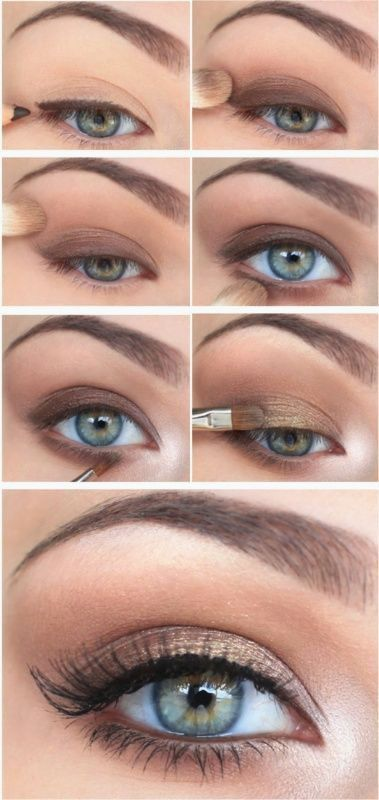 Beginner's Smokey Eye Tutorial | Love the glow on the inner corners, it really brightens up the eye for those mornings when you feel a little sleepier.
