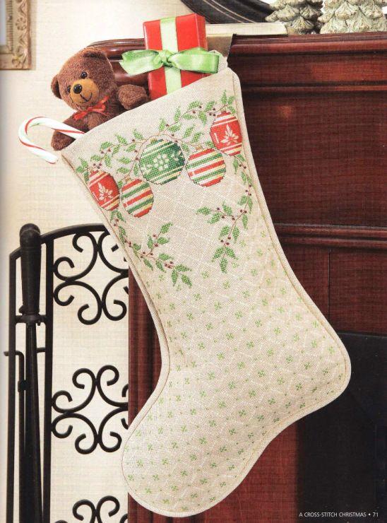 Gallery.ru / Фото #3 - A Cross Stitch Christmas - Holiday Celebrations - ravi