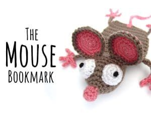 Amigurumi Crochet Mouse Bookmark Facebook