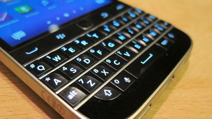 Blackberry Classic (image: Ewan Spence).
