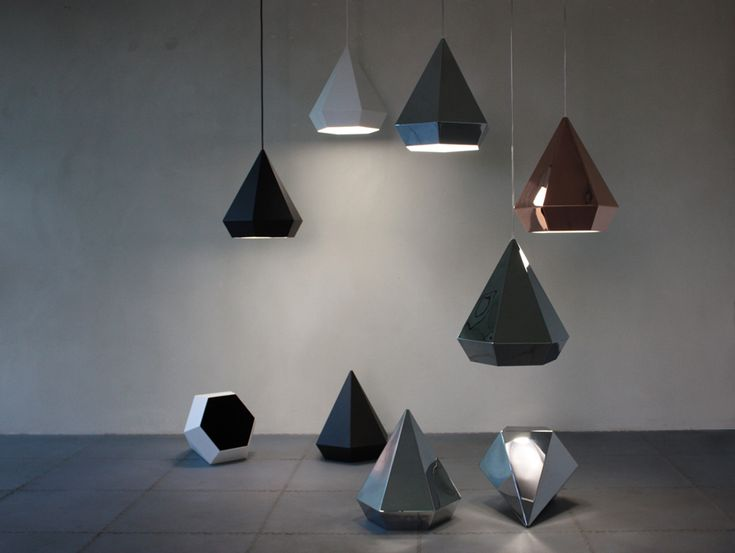 Replica Diamond Pendant Lamp By Sebastian Scherer