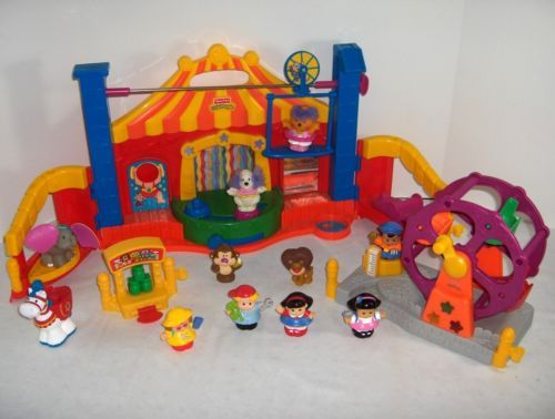 Best Little People Toys : Fisher price little people big top circus amusement park