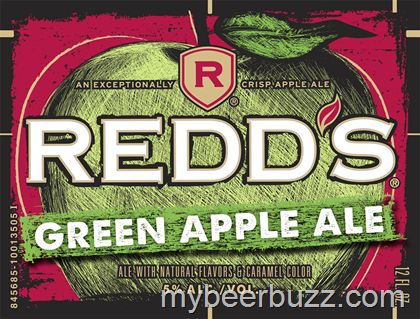 mybeerbuzz.com - Bringing Good Beers & Good People Together...: Redd's Green Apple Ale