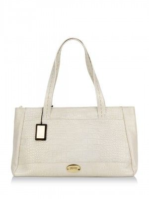 Hidesign Handbag With Metallic Brand Logo by koovs.com