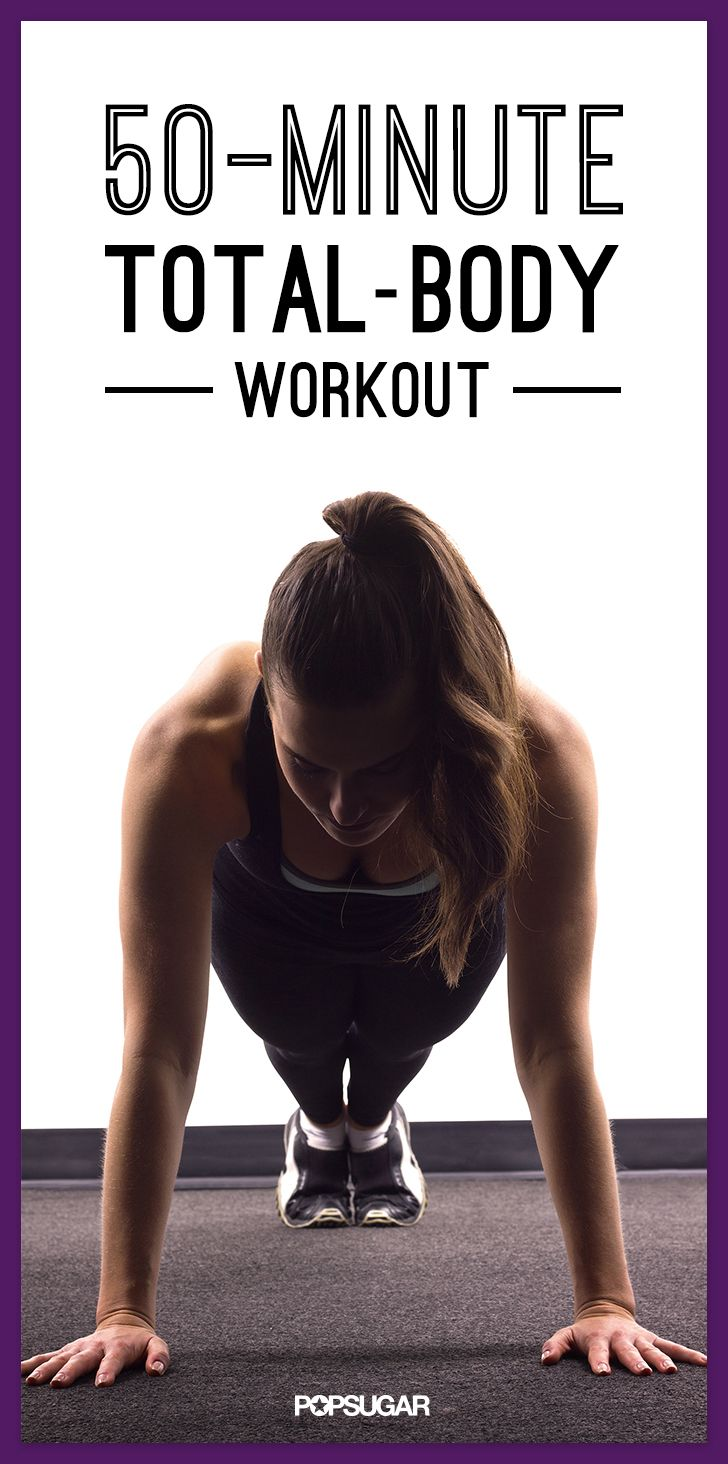 Follow these 10-minute videos for a 50-minute workout.