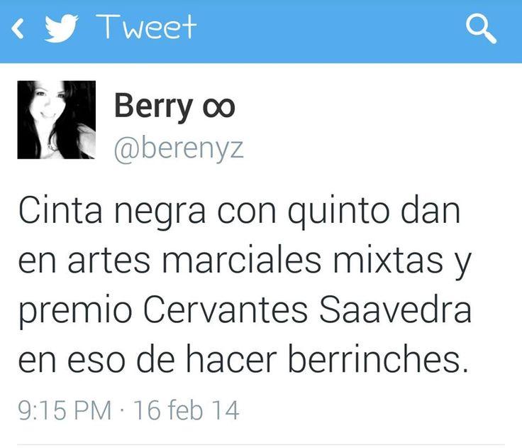 Cinta negra #berrinches