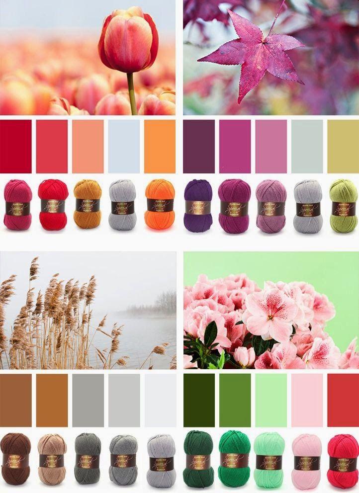 Сама Себе Стилист: Таблицы сочетания цветов