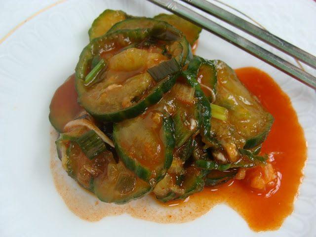 Mitinita: Cucumber Kimchi (de Castraveti)