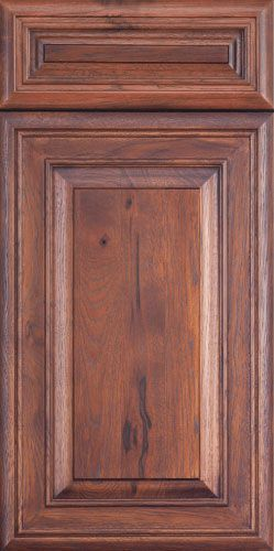 Old World Collection Wood Cabinet Door At Elias Woodwork Wisteria Miter Style With Raised Panel Rustic Hickory Wit