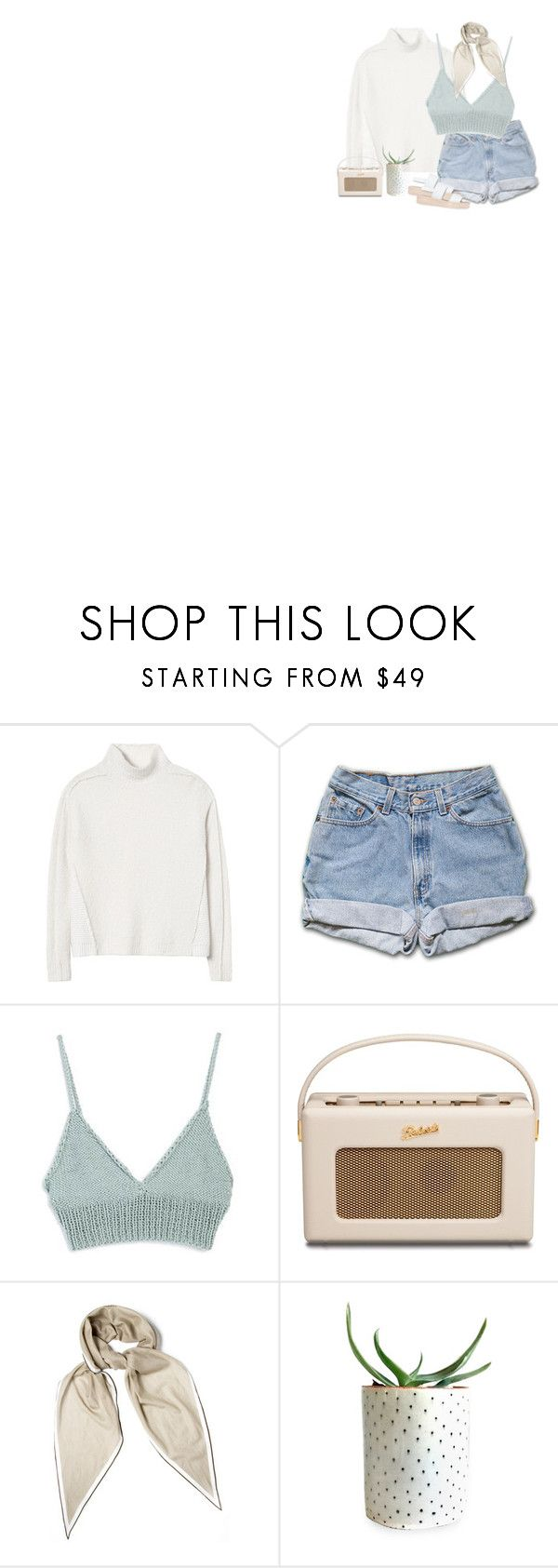 """I had an impulse to clear it all away"" by springlock ❤ liked on Polyvore featuring Rebecca Taylor, Roberts, Hermès and Tony Bianco"