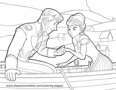 Coloring Pages Disney Princess Frozen : 109 best coloring pages images on pinterest