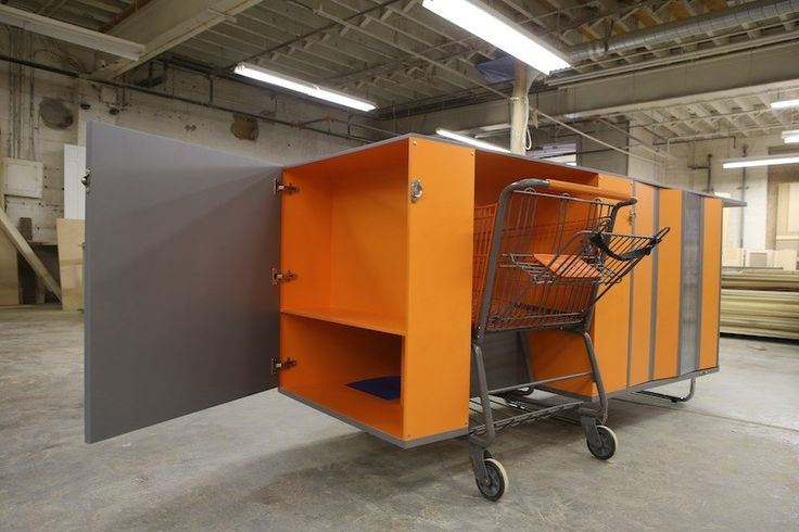Metal Shelter Grocery Cart : Best images about micro housing shelter for the