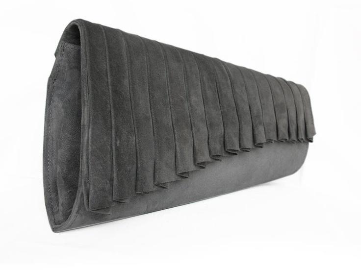 Centauri - gray suede - Biskup Handbags