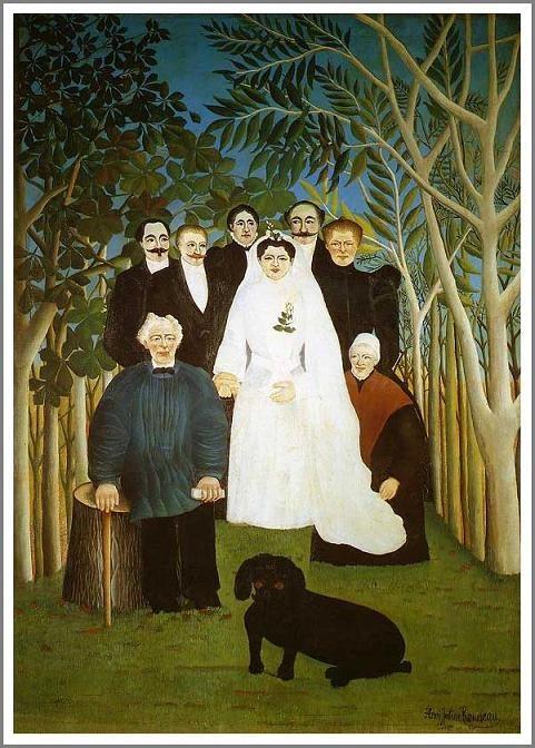 田舎の結婚式(婚礼)   (La noce) 1905年  163×114cm | 油彩・画布 | オルセー美術館(パリ)