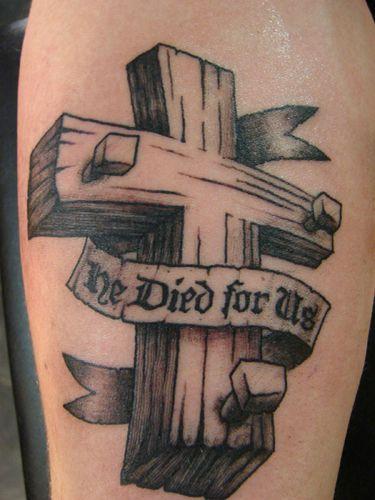 Best 20 Wooden Cross Tattoos Ideas On Pinterest