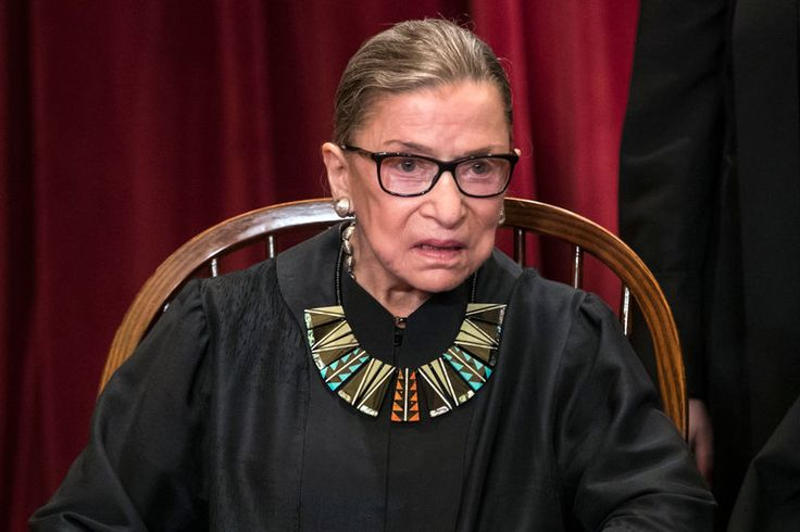 On Justice Ginsburg's Summer Docket: Blunt Talk on Big Cases - The New York Times -- The most outspoken member of the Supreme Court avoided talking about President Trump, a subject that caused her grief last year, but remained candid in discussing the court.