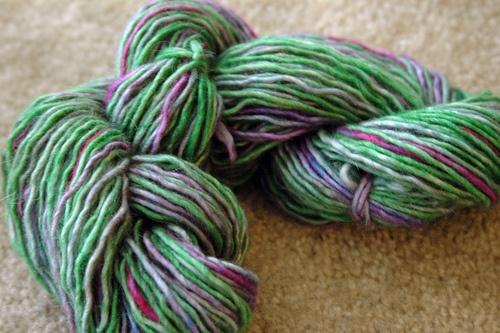 """""""Some Kind of Purple Flower""""  128yd, 106g, Wiltons, Recycled light pink wool:  Woolen, Purple Flowers,  Woollen"""