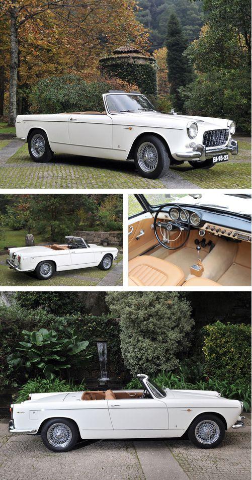 1960 Lancia Appia Cabriolet by Vignale via archaictires.tumblr.com/